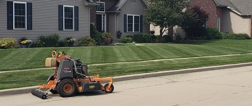 Mowing in Bloomington, IL