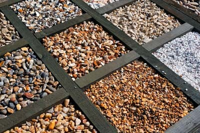 Assortment of decorative rock for landscaping in %%targetarae1%%, IL.